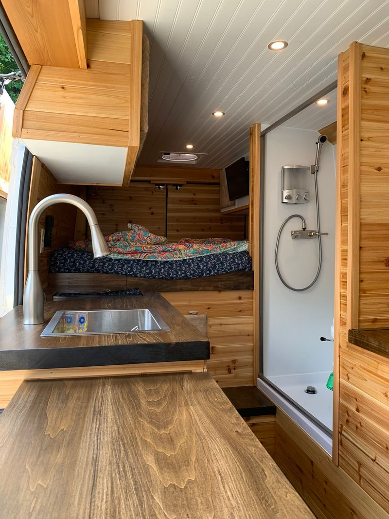 """Picture 5/20 of a 2018 pro master 159"""" custom camper van  for sale in Champion, Pennsylvania"""