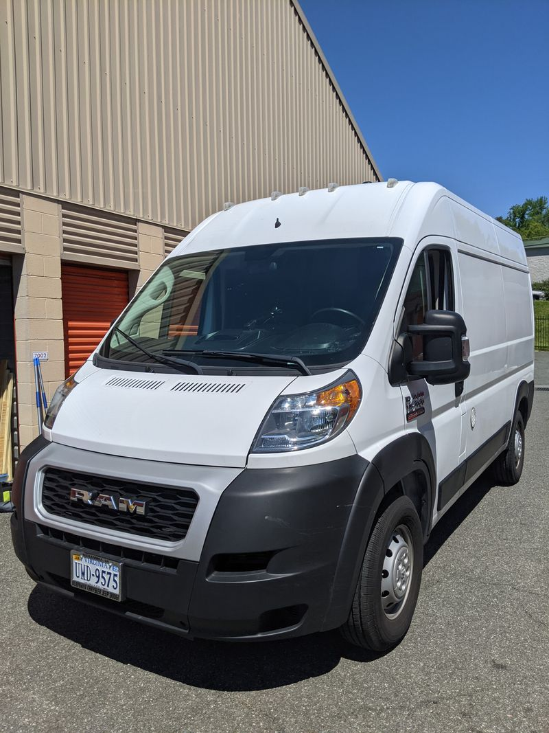 Picture 1/26 of a 2019 Ram Promaster Hi-Top for sale in Alexandria, Virginia