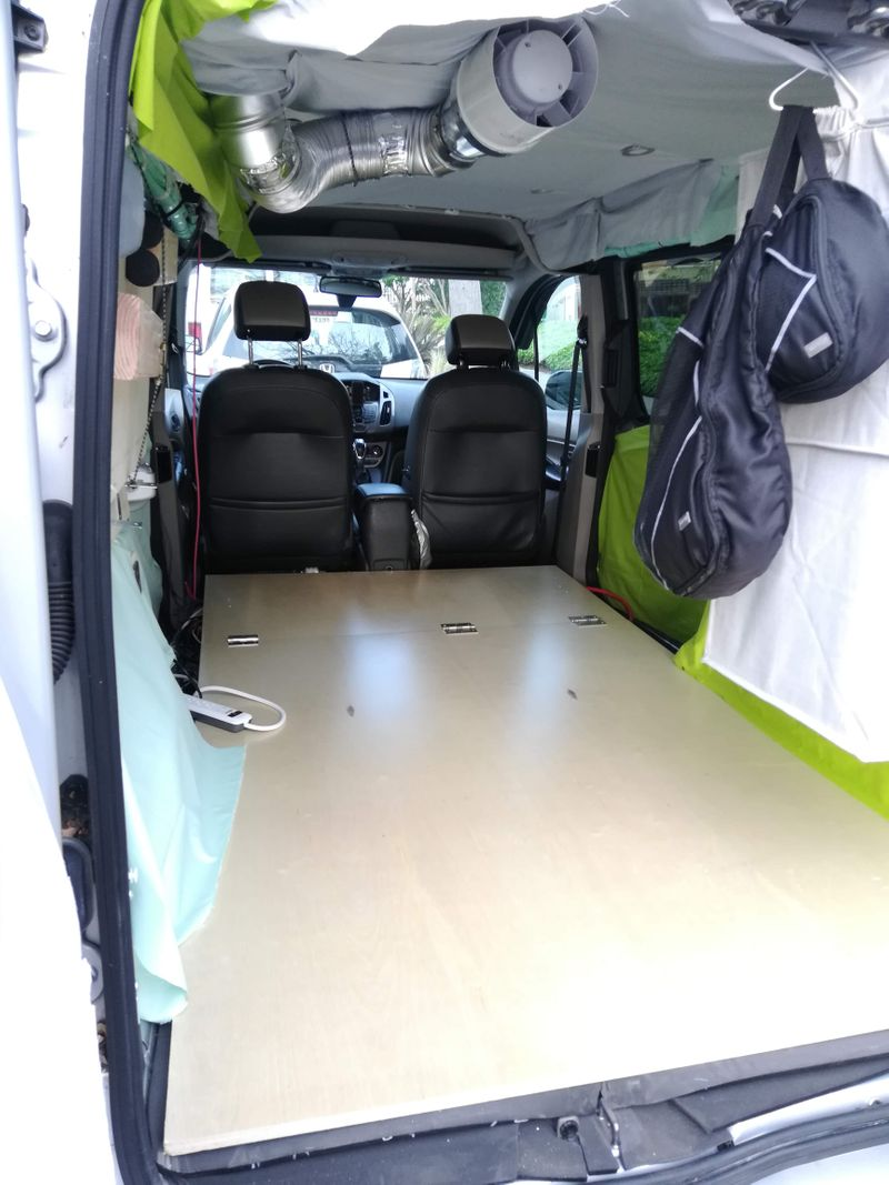 Picture 3/16 of a 2017 Transit Connect Camper 300W Solar +3yWarranty for sale in Berkeley, California