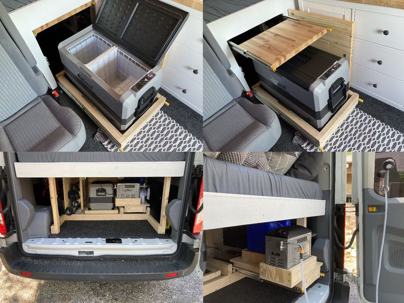 Picture 3/9 of a 2018 Ford Transit stealth camper van conversion for sale in Houston, Texas