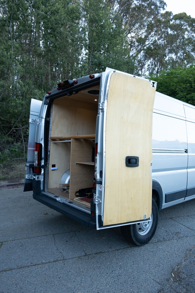 Picture 4/21 of a 2018 Ram ProMaster 2500 High Roof 159WB for sale in San Francisco, California