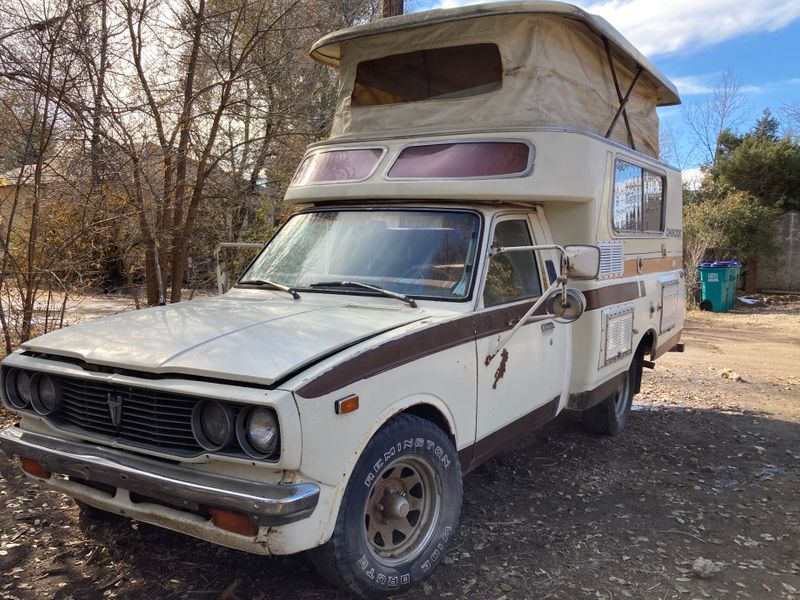 Picture 1/11 of a 1978 Toyota Chinook for sale in Fort Collins, Colorado