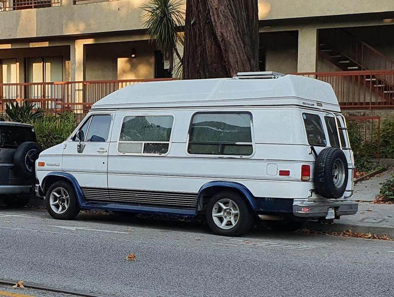 Picture 6/8 of a 1992 GMC Vandura Camper Van for sale in Santa Cruz, California