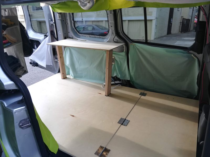 Picture 4/16 of a 2017 Transit Connect Camper 300W Solar +3yWarranty for sale in Berkeley, California