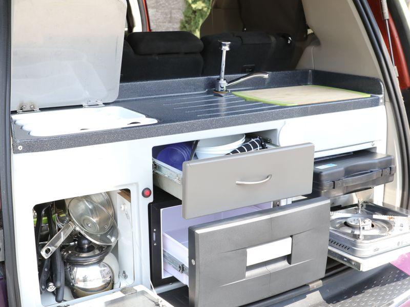 Picture 2/22 of a 2013 Dodge Caravan SXT Camper Van Mini Home RV for sale in Martinez, California