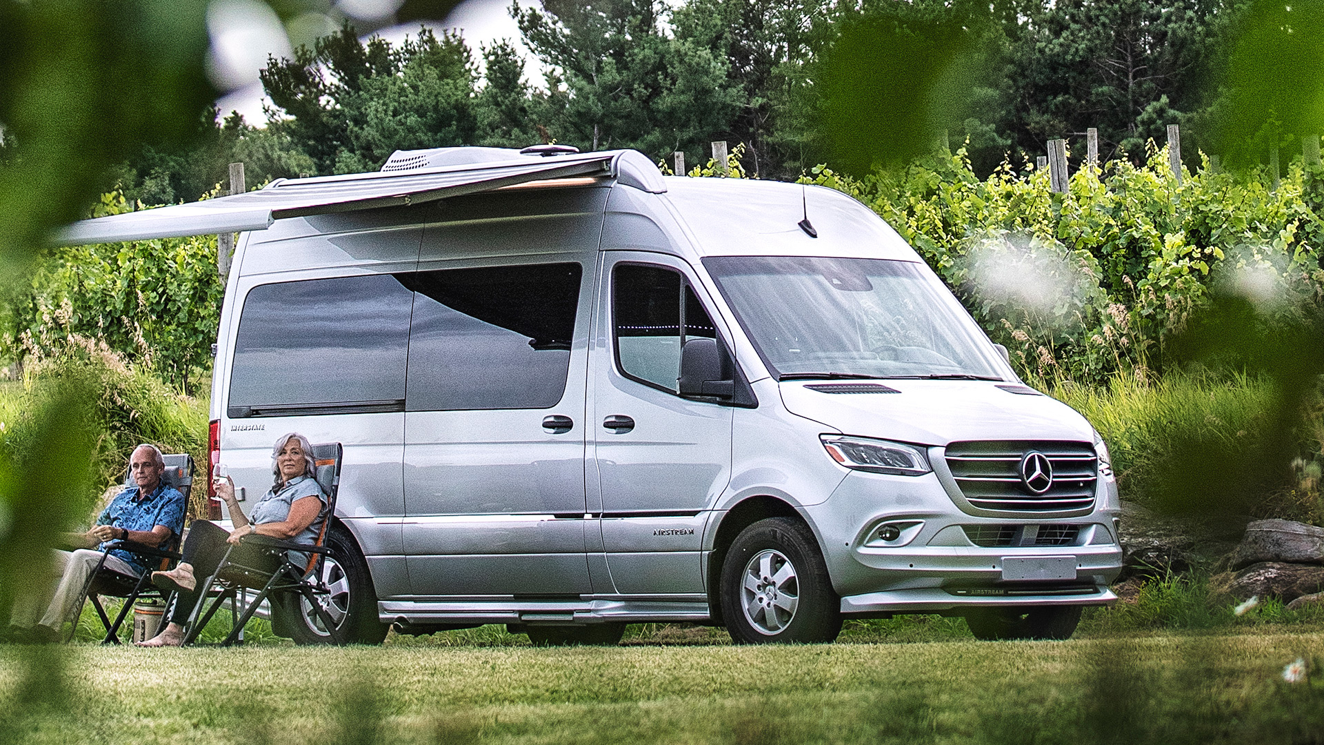 Picture of an Airstream Interstate Nineteen Touring Coach Class B RV Campervan